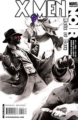X-Men Noir: The Mark of Cain #1 - Variant